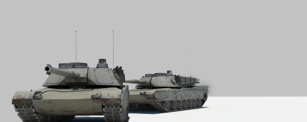 I take no ownership to the modeling and Texturing of this awesome Tank.  Free Obj can be downloaded from here http://www.turbosquid.com/3d-models/free-obj-model-m1-abrams-tank/867097