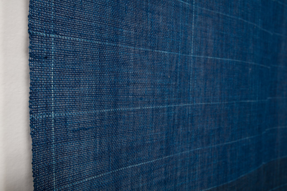 Deep Indigo Grid