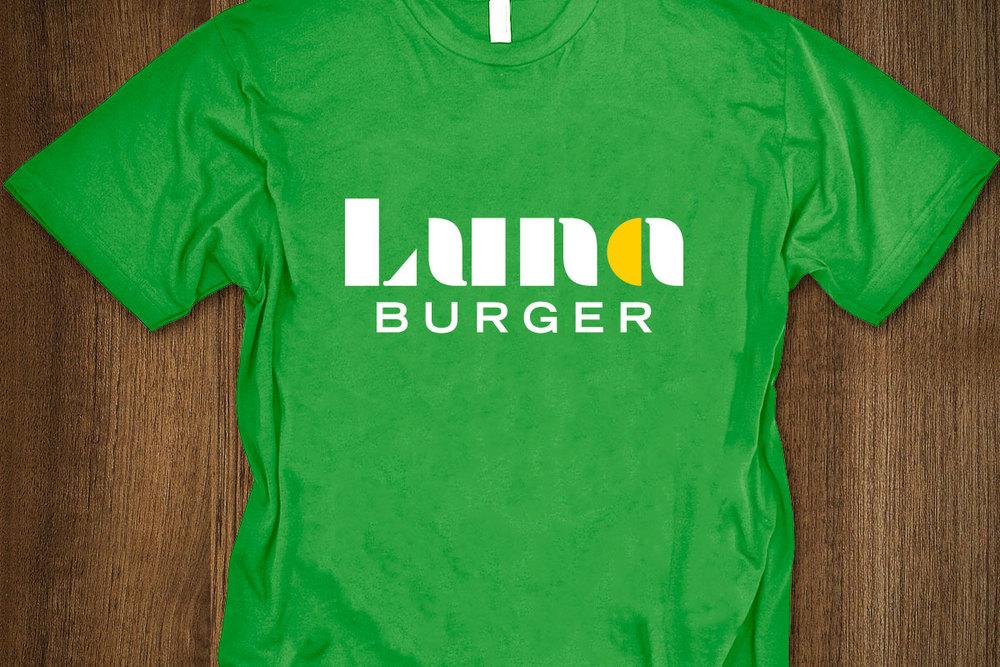 Luna Burger t-shirt (© Slagle Design)