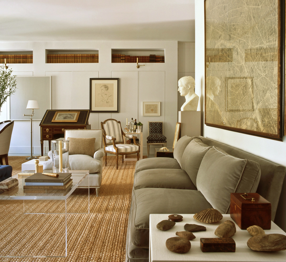 Bruce budd for Mark d sikes living room