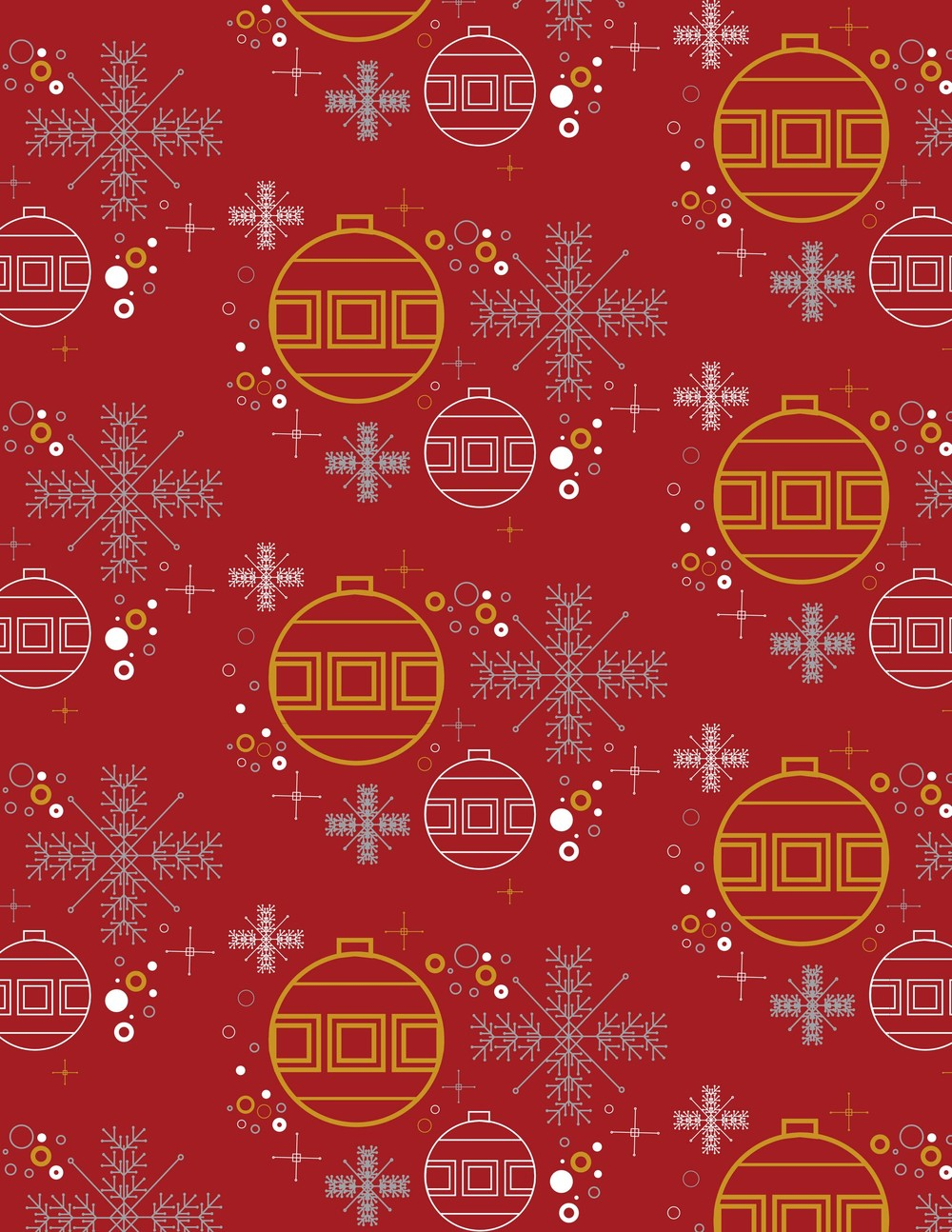 Festive Pattern by John Bucher
