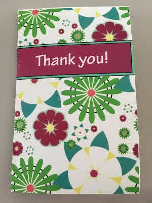 Greeting Card Using Festive Pattern by Kayla Parks