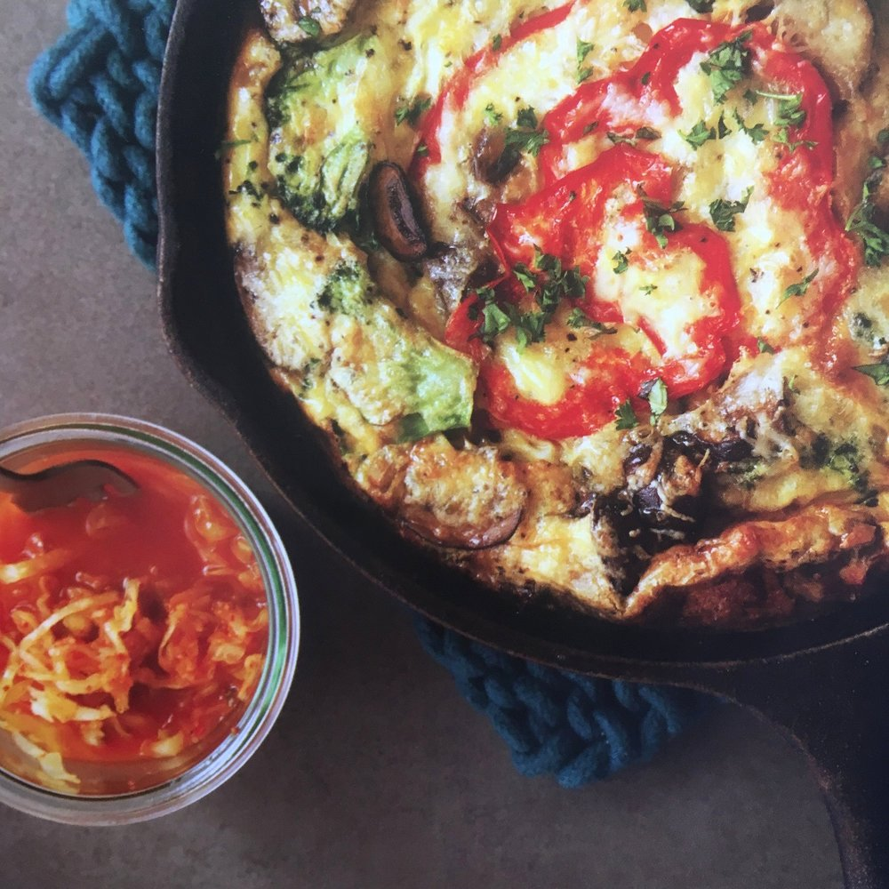 Not Your Mama's Fritatta. Photo credit: Charity Burggraaf
