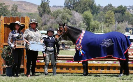 Pictured: Grand Champion West Coast Pony Finals 2015 with Augusta Iwasaki