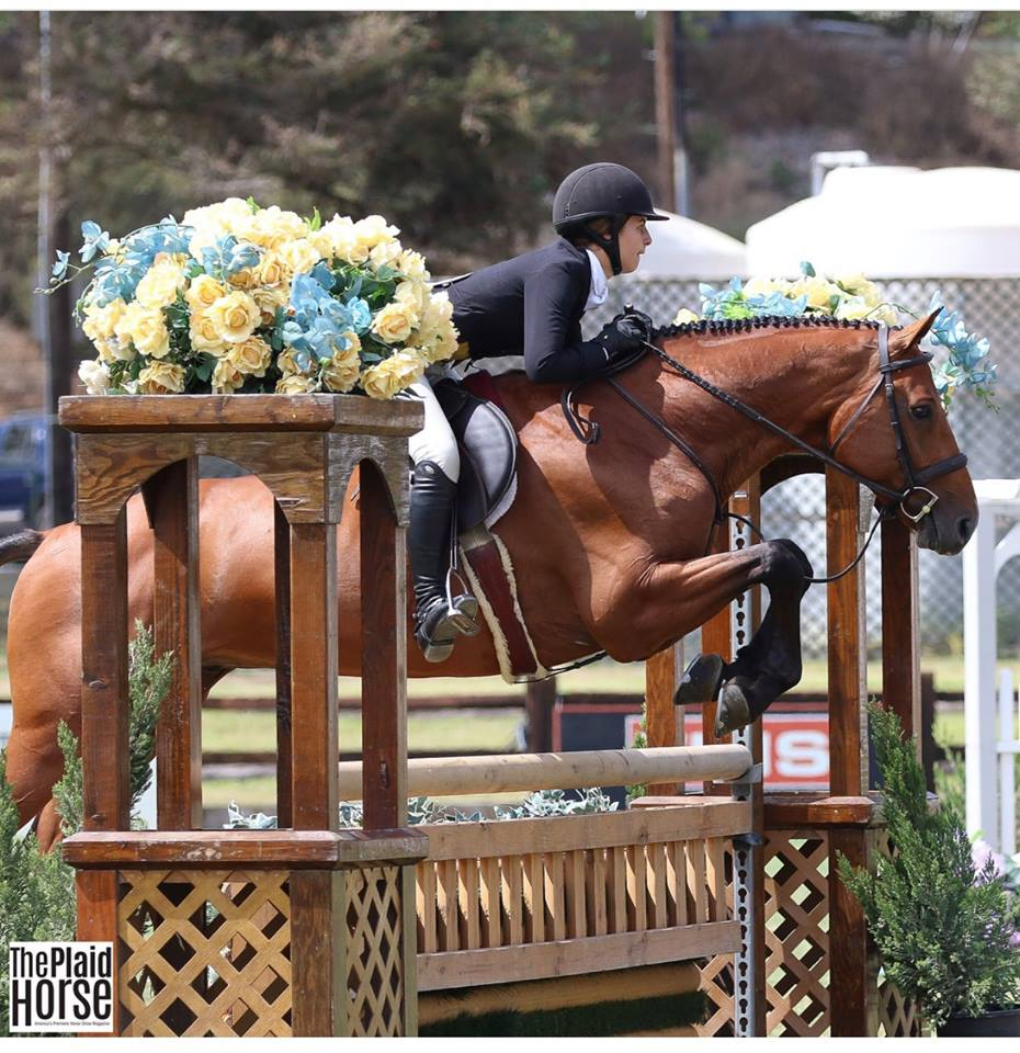 Kaitlyn Lovingfoss and Triumph