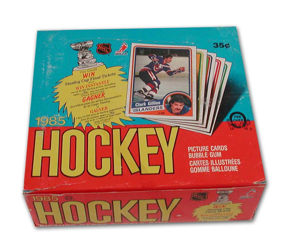 An ETF is a lot like buying an entire set of sports cards like this hockey set from 1985