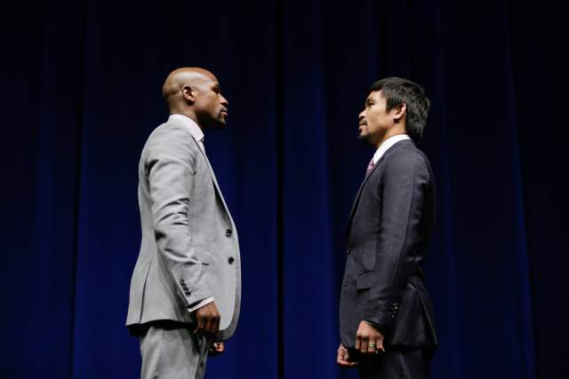 Memo to Mayweather and Pacquiao from Federal Reserve: Thank you for justifying our Quantitative Easing program