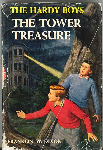 Having flashbacks of my books reports on the Hardy Boys right now #datingyourself