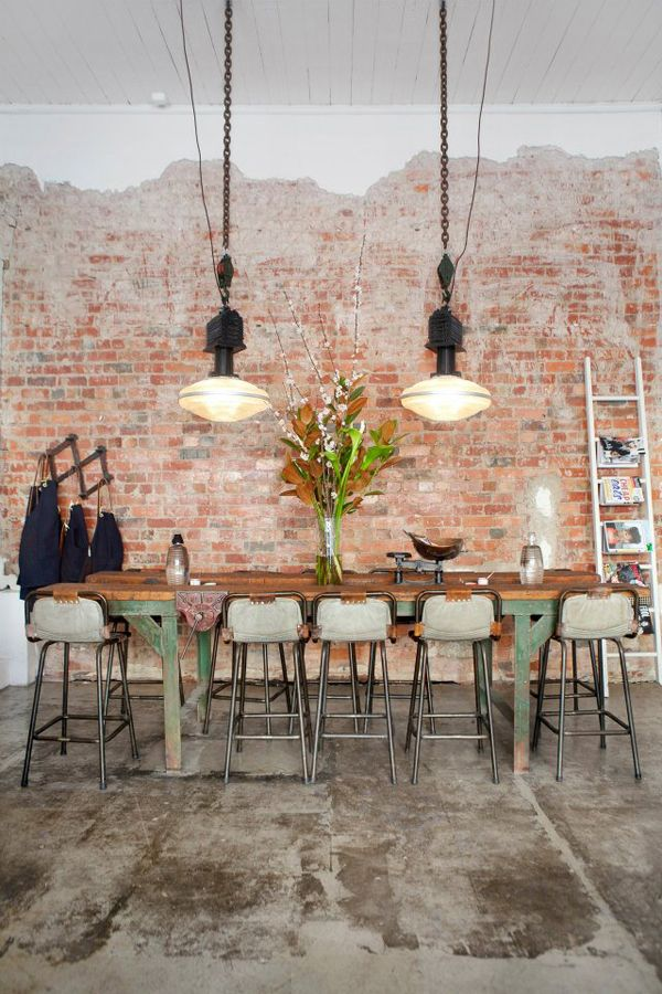 exposed brick walls design inspiration