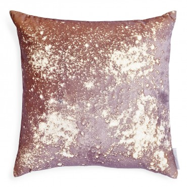 For those who are a bit more artsy and look for a unique, you won't be disappointed with Aviva Stanoff's Smolder Pyrite pillow.