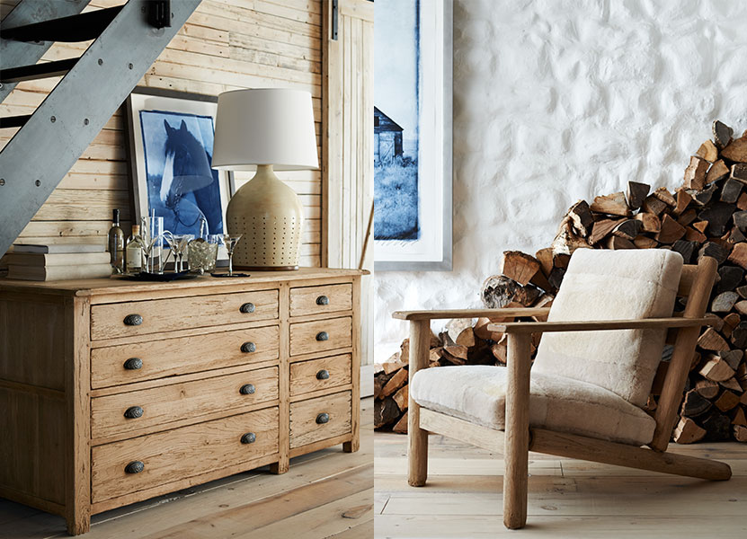 The Winter Harbour chair and dresser hit it out of the park for me.  I love how the back legs on the chair are reclined.