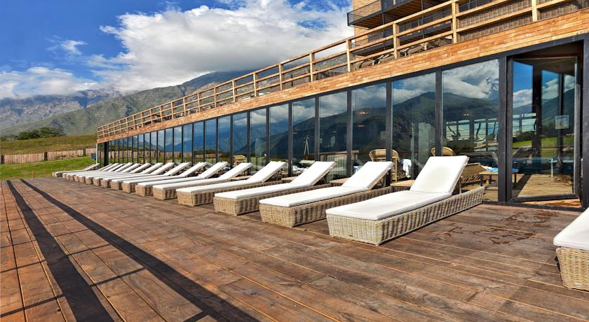 Weather permitting, be sure to enjoy a day on the sundeck.
