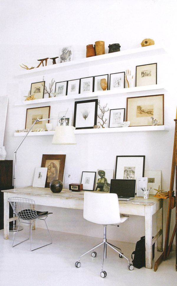 Artwork can help to make your home office feel like a personalized space and not just an appendix to your home life.