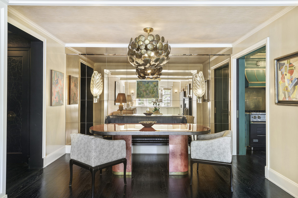 Cameron Diaz's glam West Village dining room is perfect for hosting her Hollywood pals.