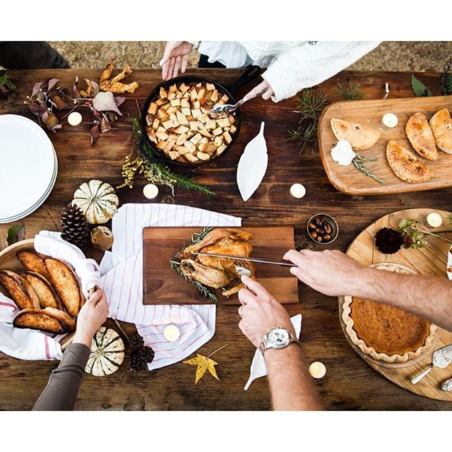 It wouldn't be Thanksgiving without a wonderful spread of everyone's favorite comfort food -- from rosemary infused turkey and crouton stuffing to decadent pumpkin pie.