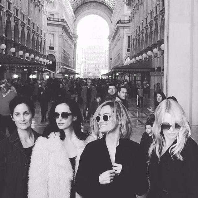 Jessica Jones crew in Paris for the Netflix Tour, plus Orange is the New Black's star Taylor Schilling.