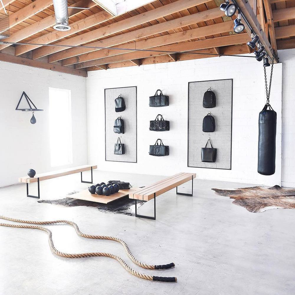 To Keep Your Home Gym Studio From Looking Dark And Unwelcoming, Keep The  Contrast With