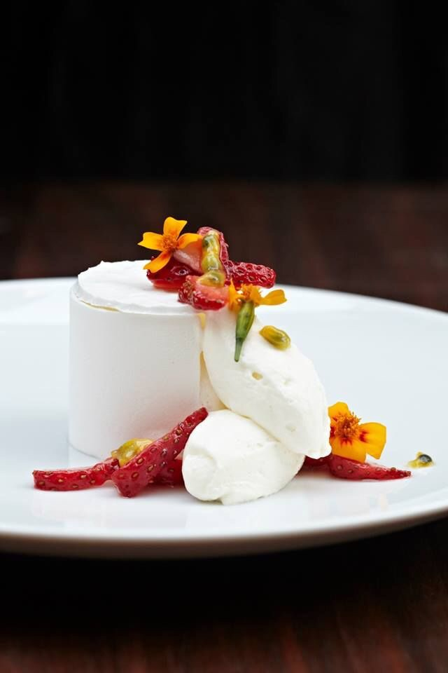 You'll want to Instagram the stunning passion fruit pavlova before you chip away at it!