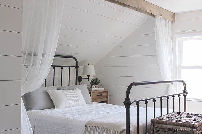It Doesnu0027t Get Much Cozier Than This Bedroom With Simple White Bedding, A