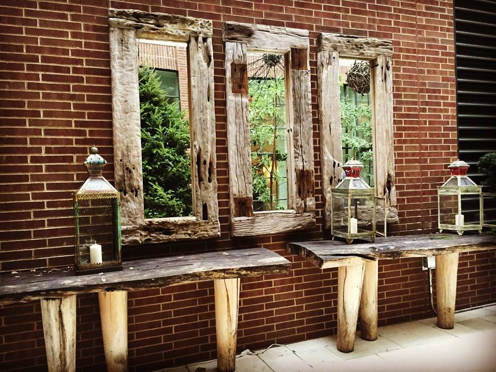 outdoor patio driftwood