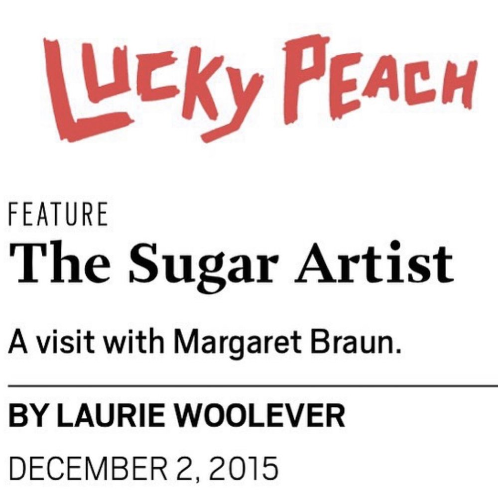 LUCKY PEACH - THE SUGAR ARTIST