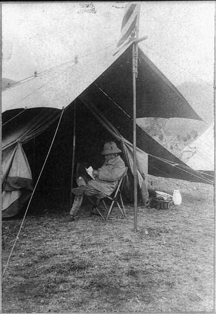 Library of Congress: Theodore Roosevelt Camping