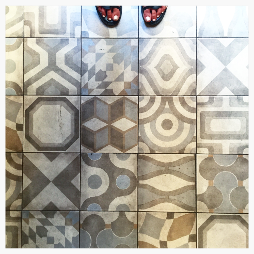my favorite. the geometric shapes are just perfect. someone needs to recreate these gorgeous tiles asap.