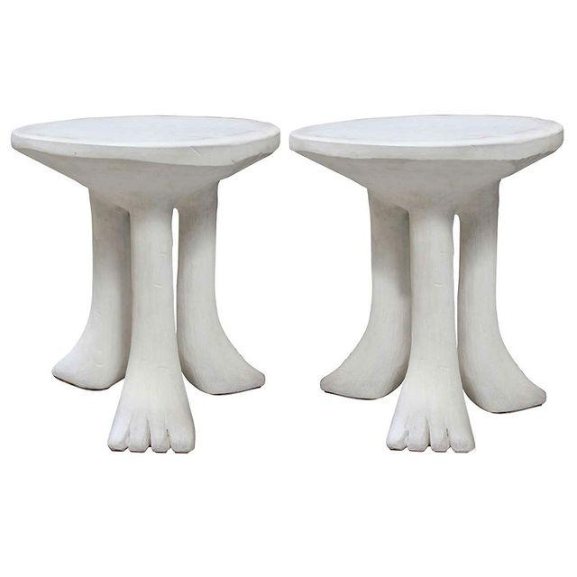 John Dickinson African Side Tables - A Pair