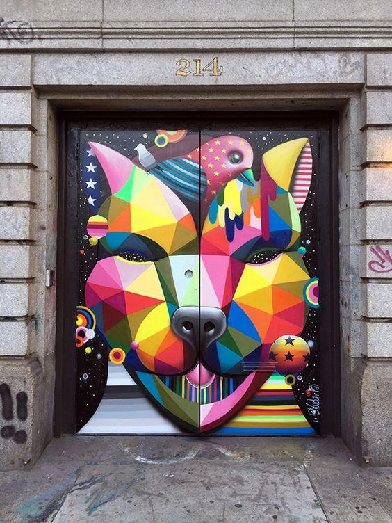 Soho Dog, Mural, 2015