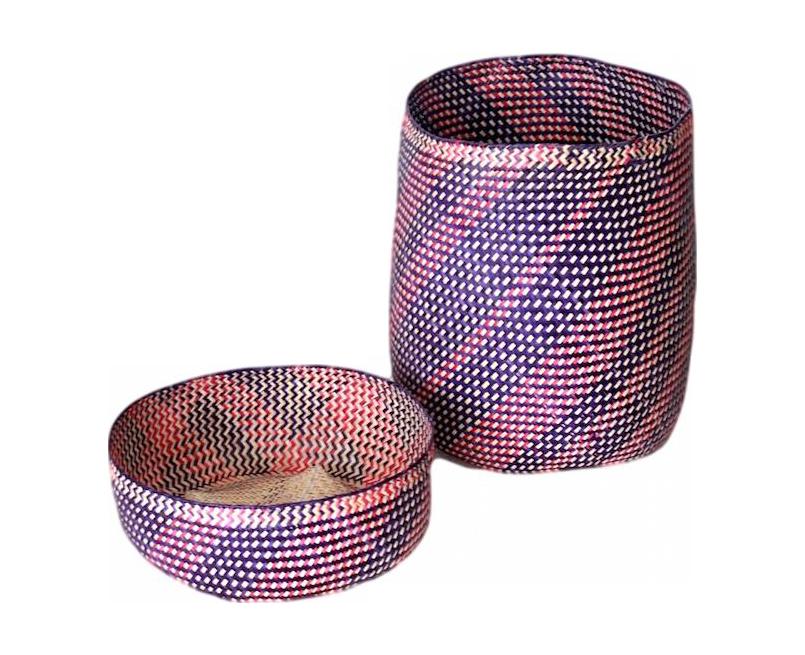 Hand-Woven Oaxacan Basket