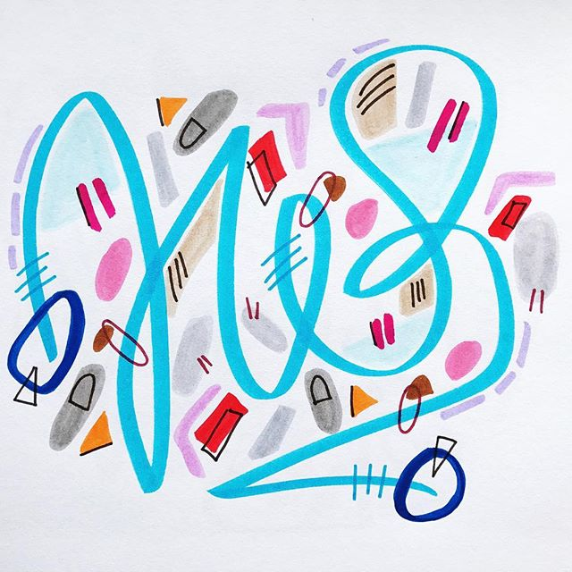 "Well then. I wasn't sure when would be the right time to start sharing my art again, but now feels as good a time as any! This beautiful Instagram community was built on a love of art and sharing. Which is why I've felt ashamed and confused the last year as I migrated the reality of not creating art. I took a long break. It was kind of scary. Even though deep down I knew it was so necessary. And that I'd be back. It's been a part of me since the very beginning. My original ""identity"" - I AM AN ARTIST. Which made everything that much more confusing. Until all of a sudden it wasn't. Breaks are good people. Surround yourself with incredible humans. Love them dearly. And then, when the time is right, make art. It's pouring out of me again. I can't stop and can't wait to share what I've been up to. And thank you for your support, all of you. Community has become a major value in my work and it's taking me to places I only dreamed of. 🙏🏽💙🌈"