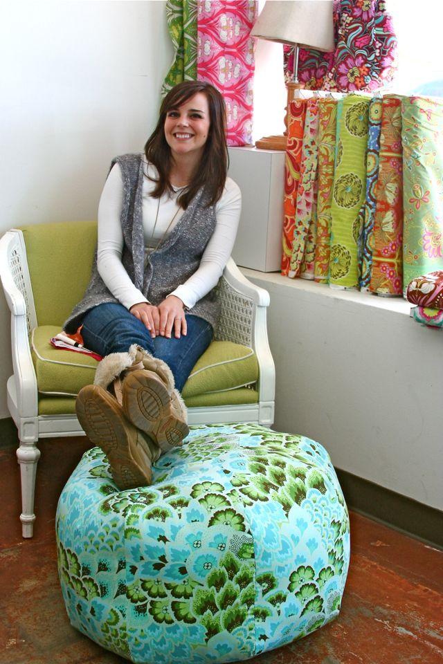 Etonnant Jenniferu0027s Gum Drop Pillow. February 10, 2011 Callie. Amy Butler Soul  Blossoms Home Decor Fabric ...