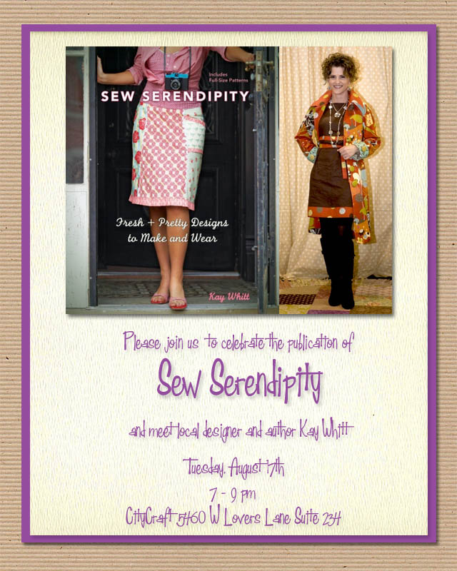 Sew Serendipity Book Party