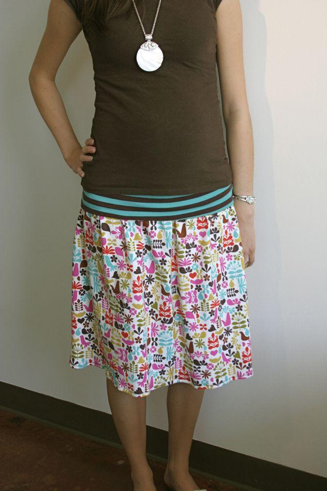 Yoga Skirt Pattern