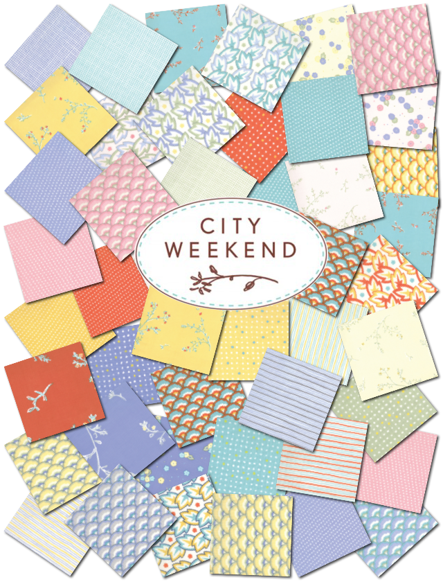 City Weekend fabric from Oliver + S