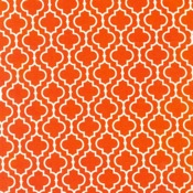 Robert Kaufman Metro Living Tile Orange
