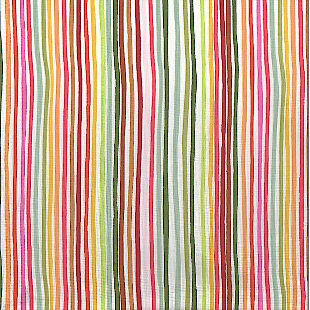 Growing Green Stripe by Alexander Henry Fabrics