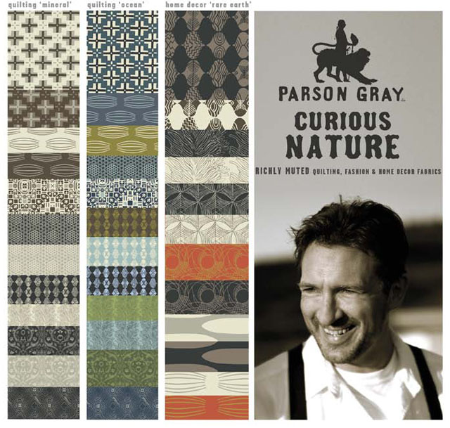 Parson Gray fabric collection by David Butler