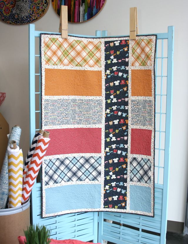 Crab Shack Colorblock Quilt