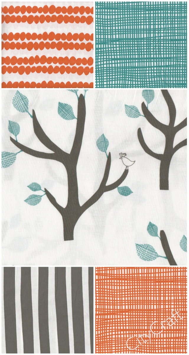 Nursery Palette - Bella by Lotta Jansdotter at CityCraft