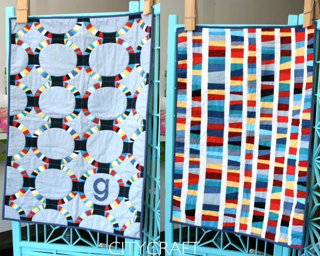 Baby George Quilt | Robert Kaufman Modern Quilts Fabric | CityCraft