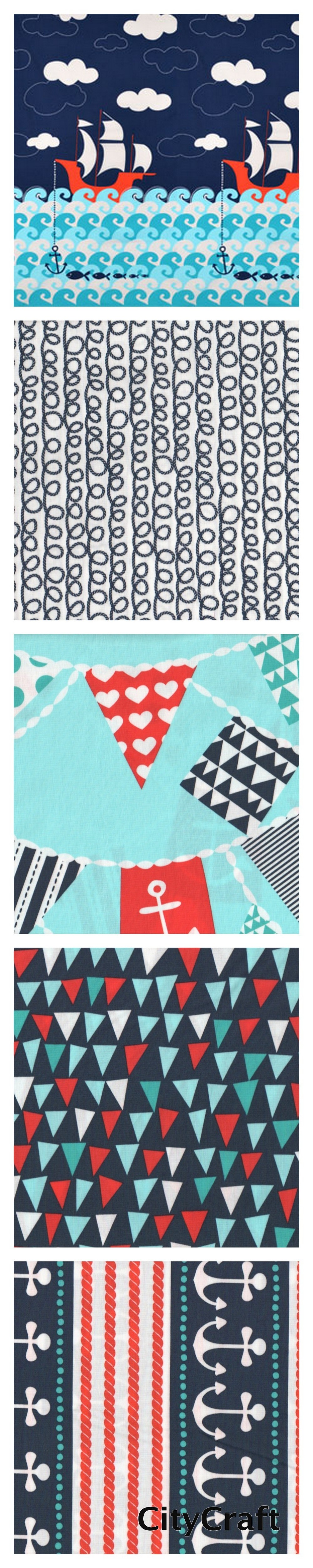 Ahoy Matey Michael Miller Fabrics at CityCraft