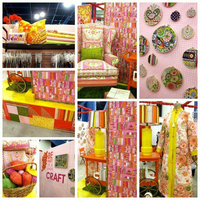Alexander Henry Fall 2012 Quilt Market Booth | CityCraft