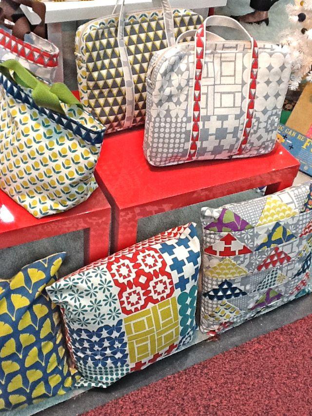 Kokka Fabrics Booth Stamped Ellen Luckett Baker
