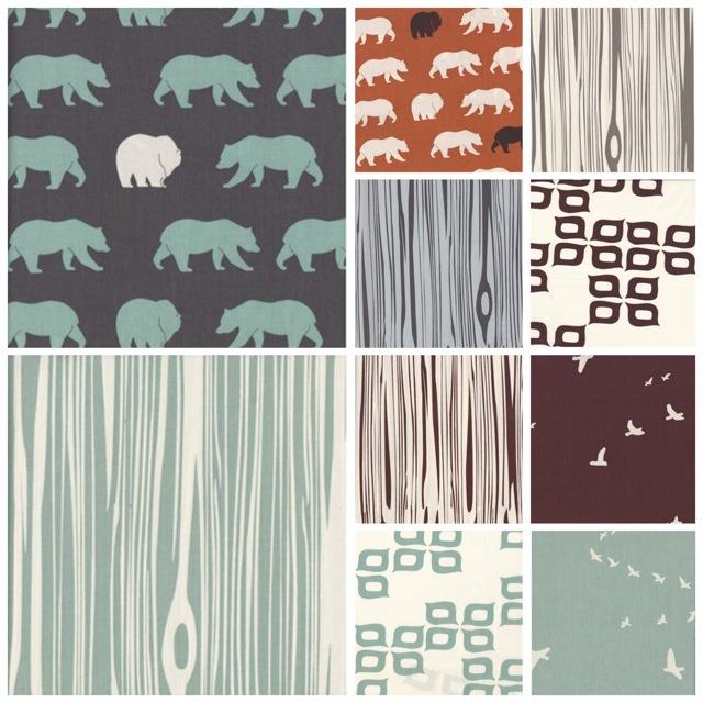 Camp Modern | Birch Fabrics | 100% Organic