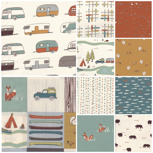 Camp Sur | Birch Fabrics | 100% Organic
