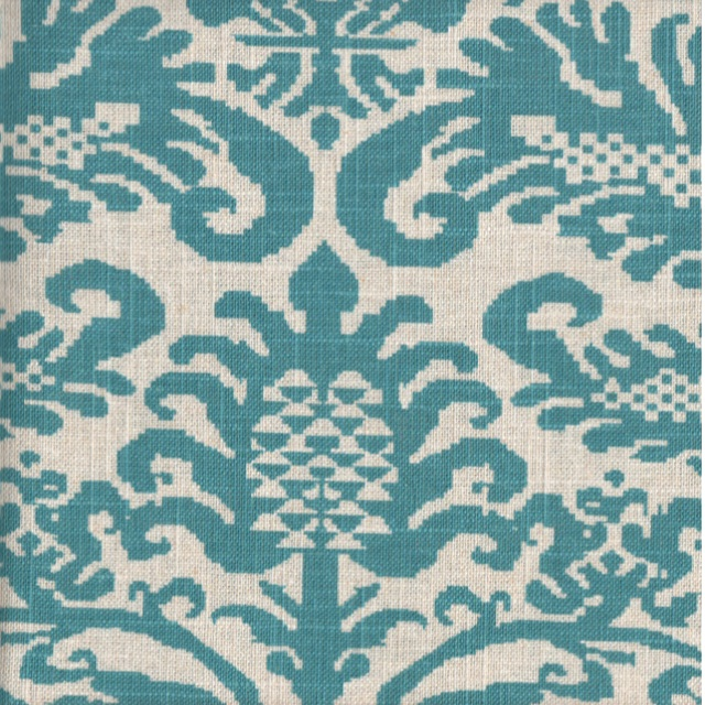 Fanfare Peacock Decorator Fabric by Amy Butler at CityCraft