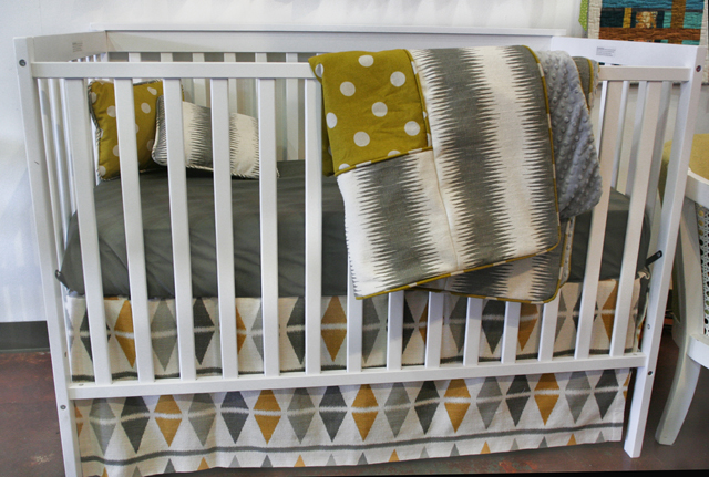 Modern Eclectic Baby Bedding