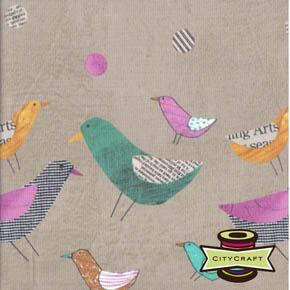 Bird Dot Putty - Collage by Such Designs