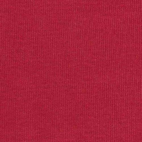 Red Rib 1x1 Knit